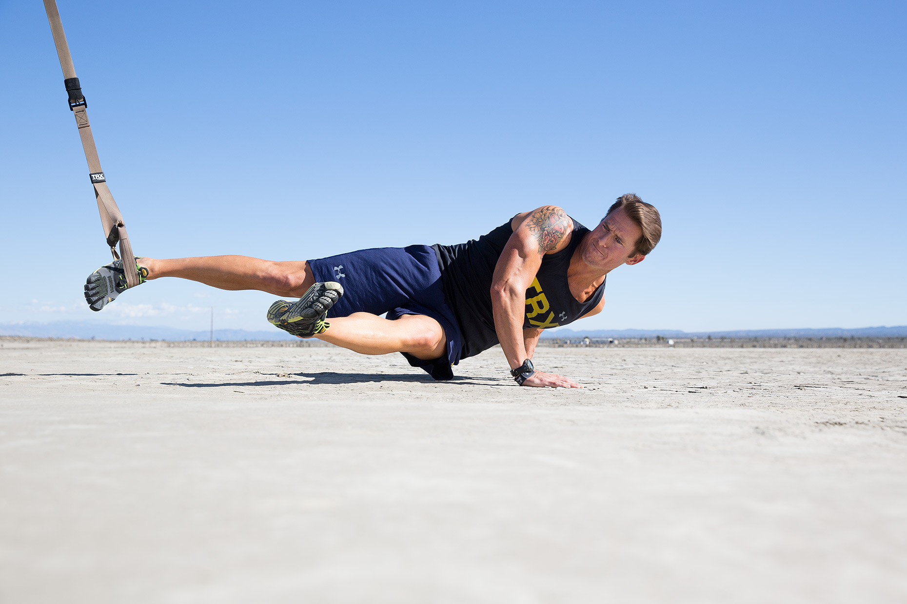 Fitness in the desert