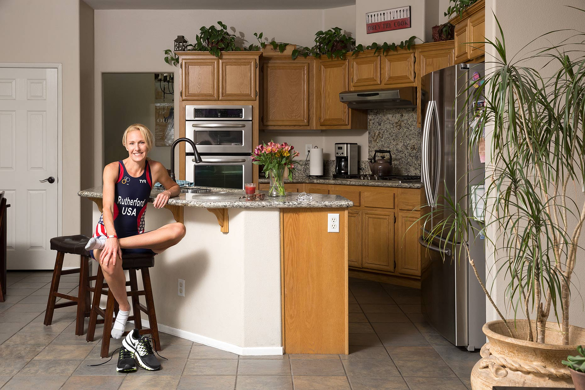 Right Next Door: Jeannie Rutherford, Triathalete, Ambassador, Working Mom