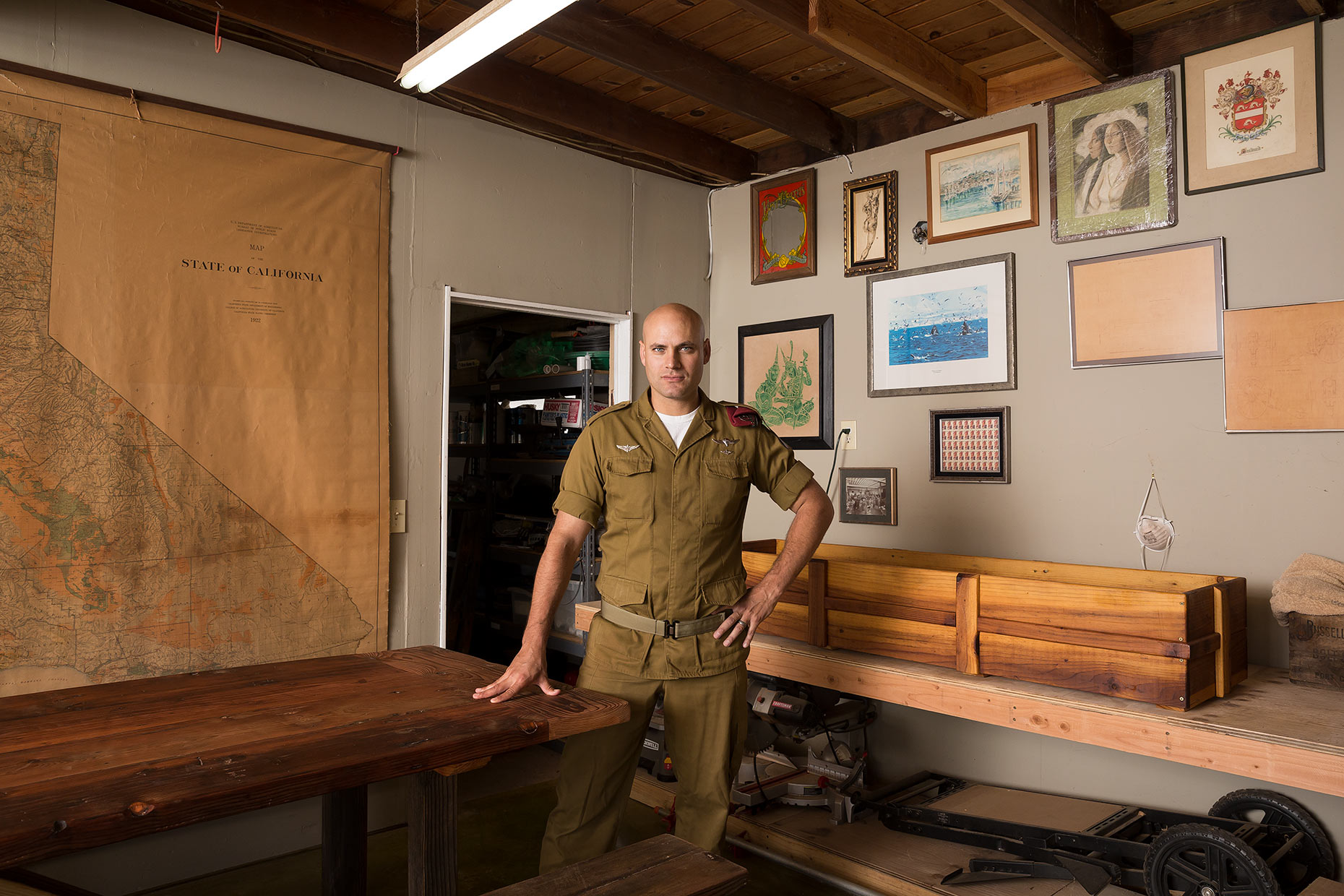 Right Next Door: Jonathan Burch, Former Isreali Army Soldier